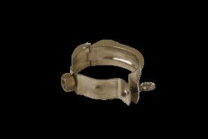 Rohrschelle regenrohr Bronze