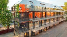 Roofinox Chroma Fassade in Berlin, Deutschland