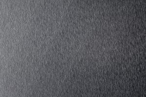 elektrogefärbtes Roofinox Dura in Schwarz, metallisch farbschimmerndes HFX Edelstahl