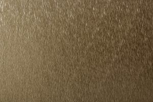 elektrogefärbtes Roofinox Dura in Bronze, metallisch farbschimmerndes HFX Edelstahl