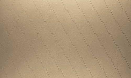 Roofinox Mansard Dachraute Oberfläche