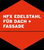 HFX Edelstahl für Dach + Fassade Logo