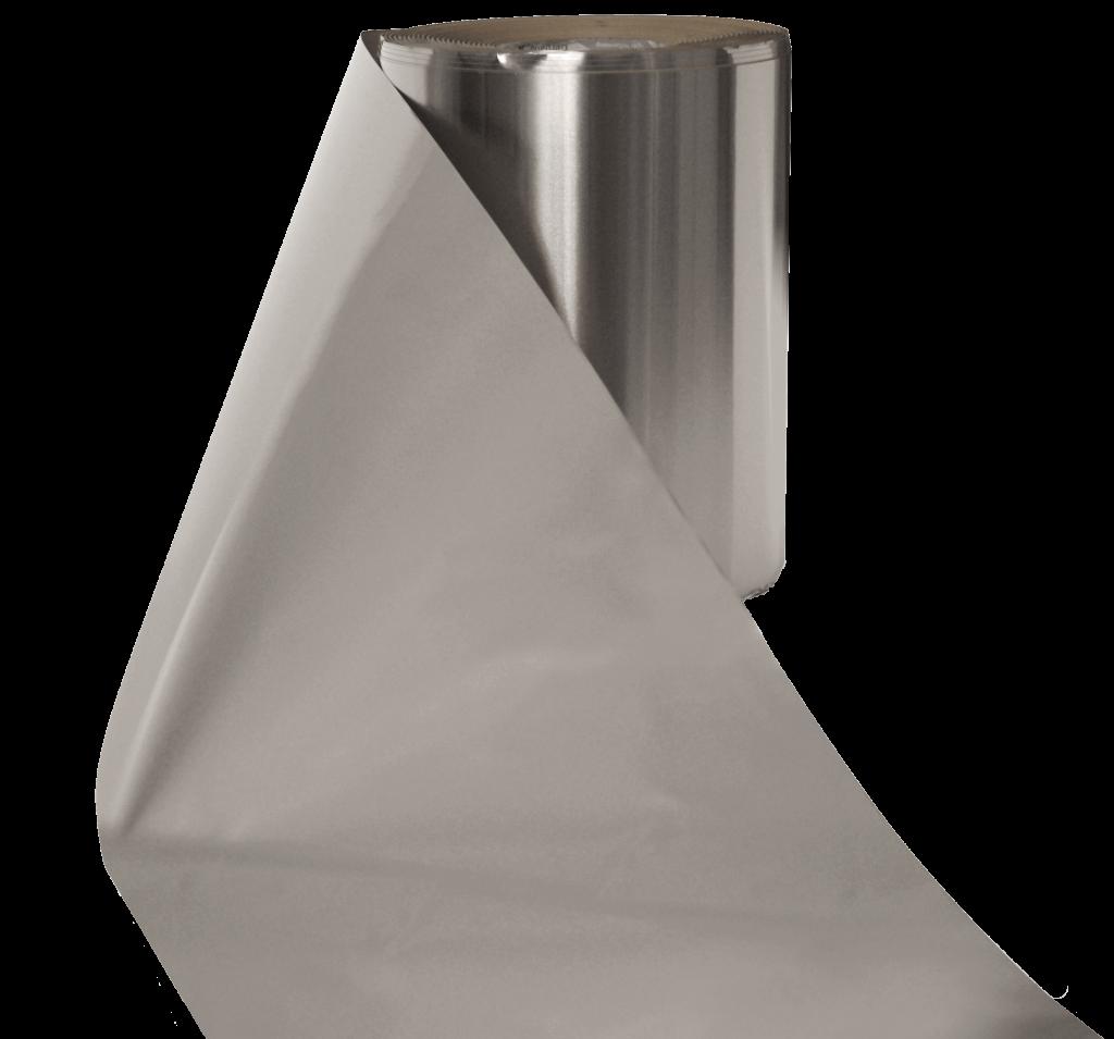 Roofinox Acustic ist ein Schalldämpfer. Die Schalschutzfolie hält Verkehrslärm oder das Geräusch von Regen auf Dach und Fassade ab.