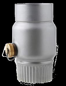 Regenwassersammler mit Schlauchanschluss von Roofinox - R.SYS Sortiment