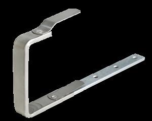 Rinnenhaken flach Kastenform von Roofinox, R.SYS Sortiment