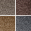 Roofinox Dura elektrogefärbter HFX Edelstahl in den Farben Bronze, Rotgold, Schwarz und Champagner