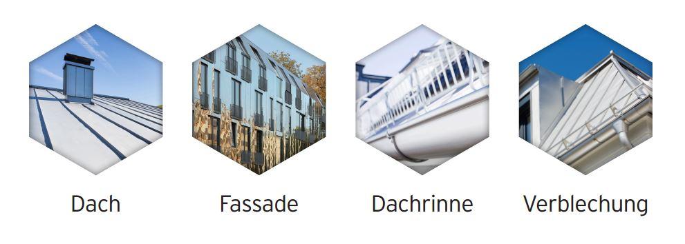 Komplettsystem für dach & Fassade