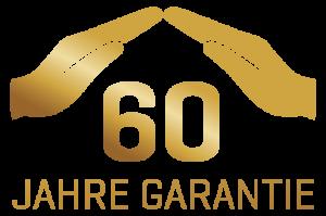 60 Jahre Materialgarantie