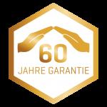 Edelstahl 60Jahre garantie