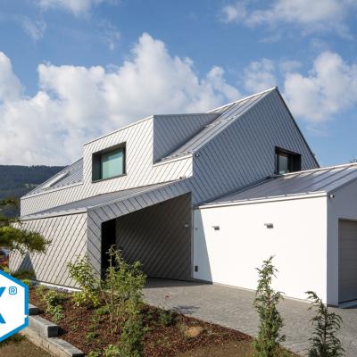 EFH Roofinox Fassade