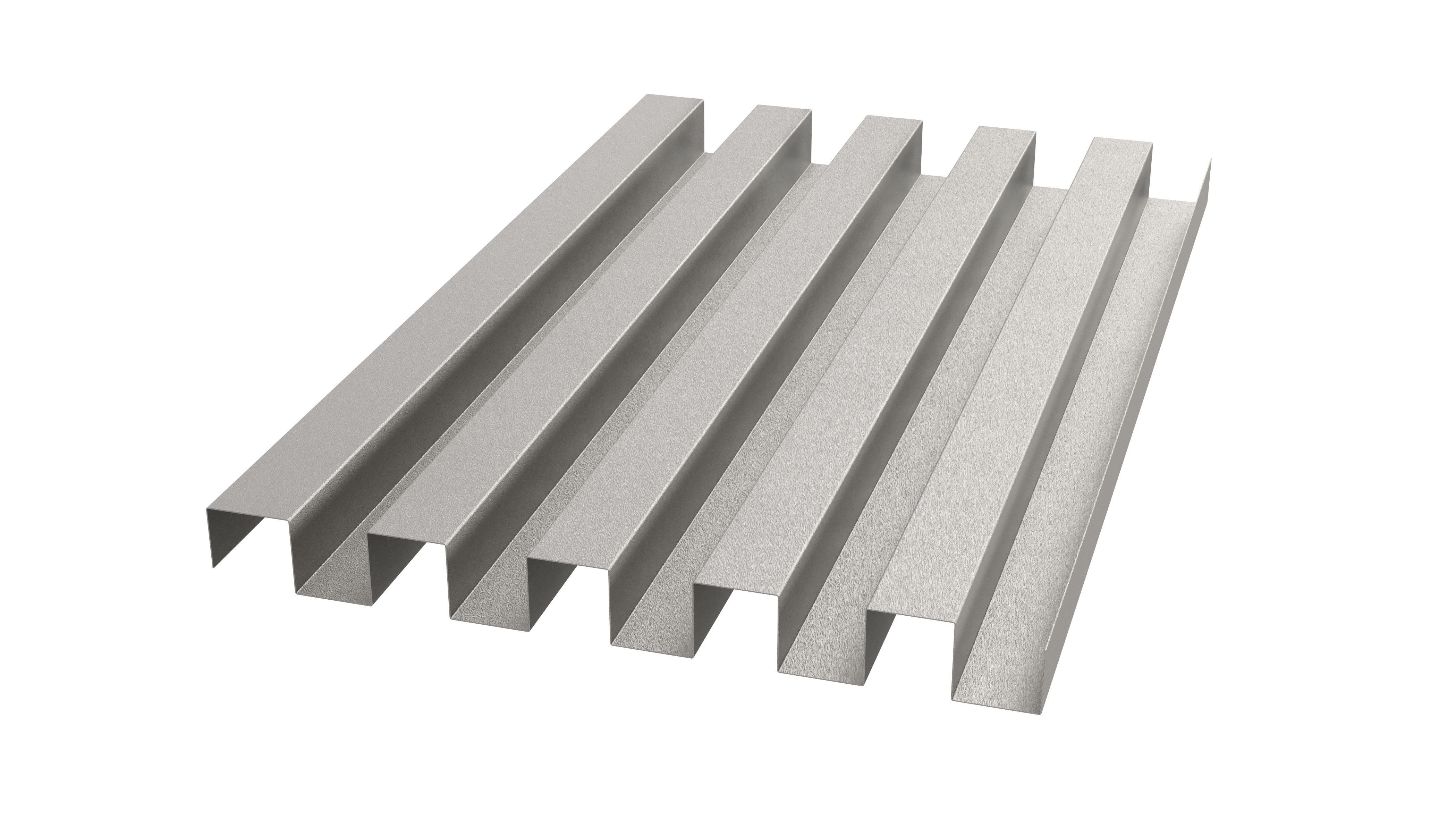 Mäanderprofil klassiche Metallfassaden