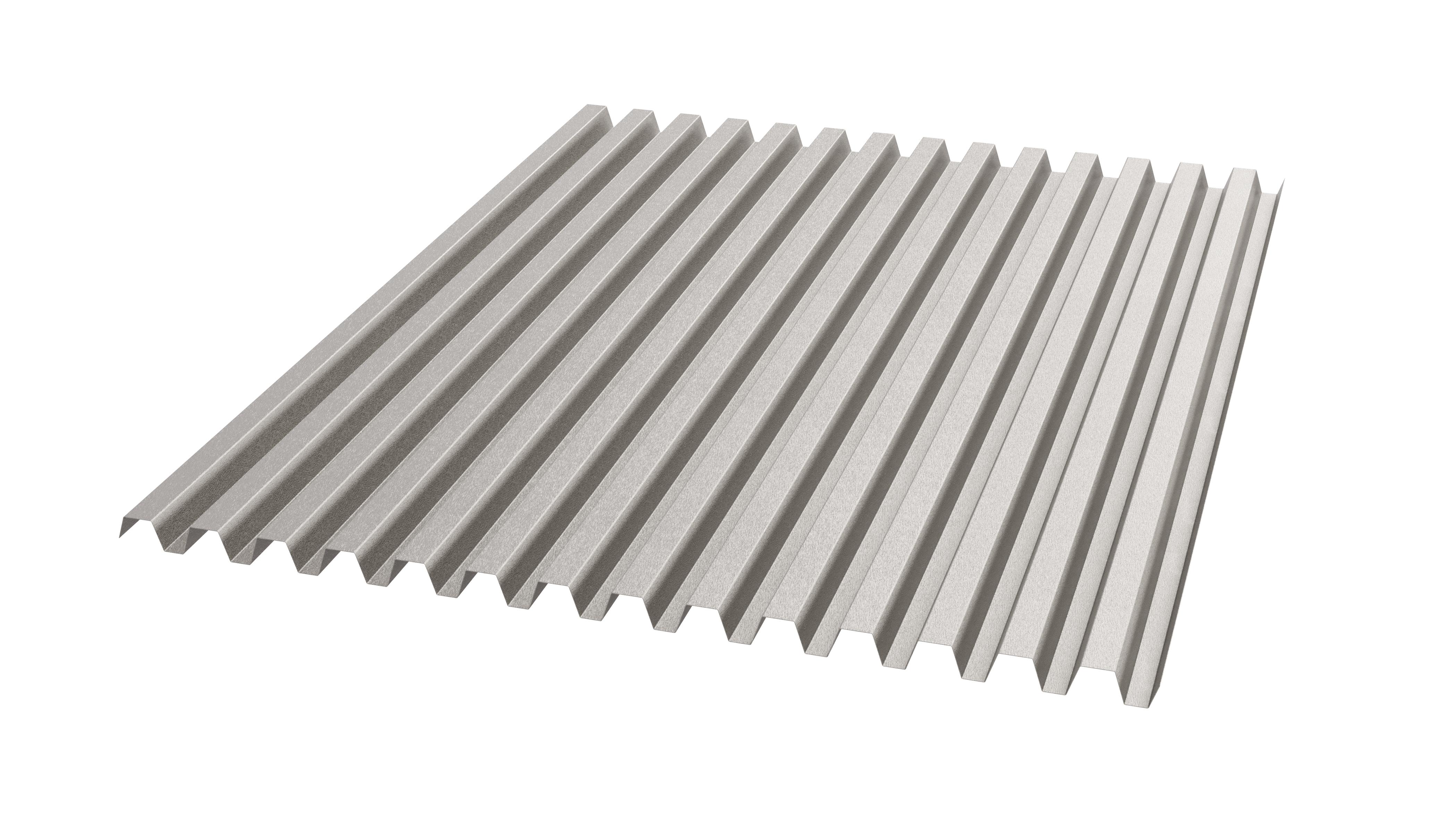 Trapezprofile für die Fassade aus HFX Edelstahl