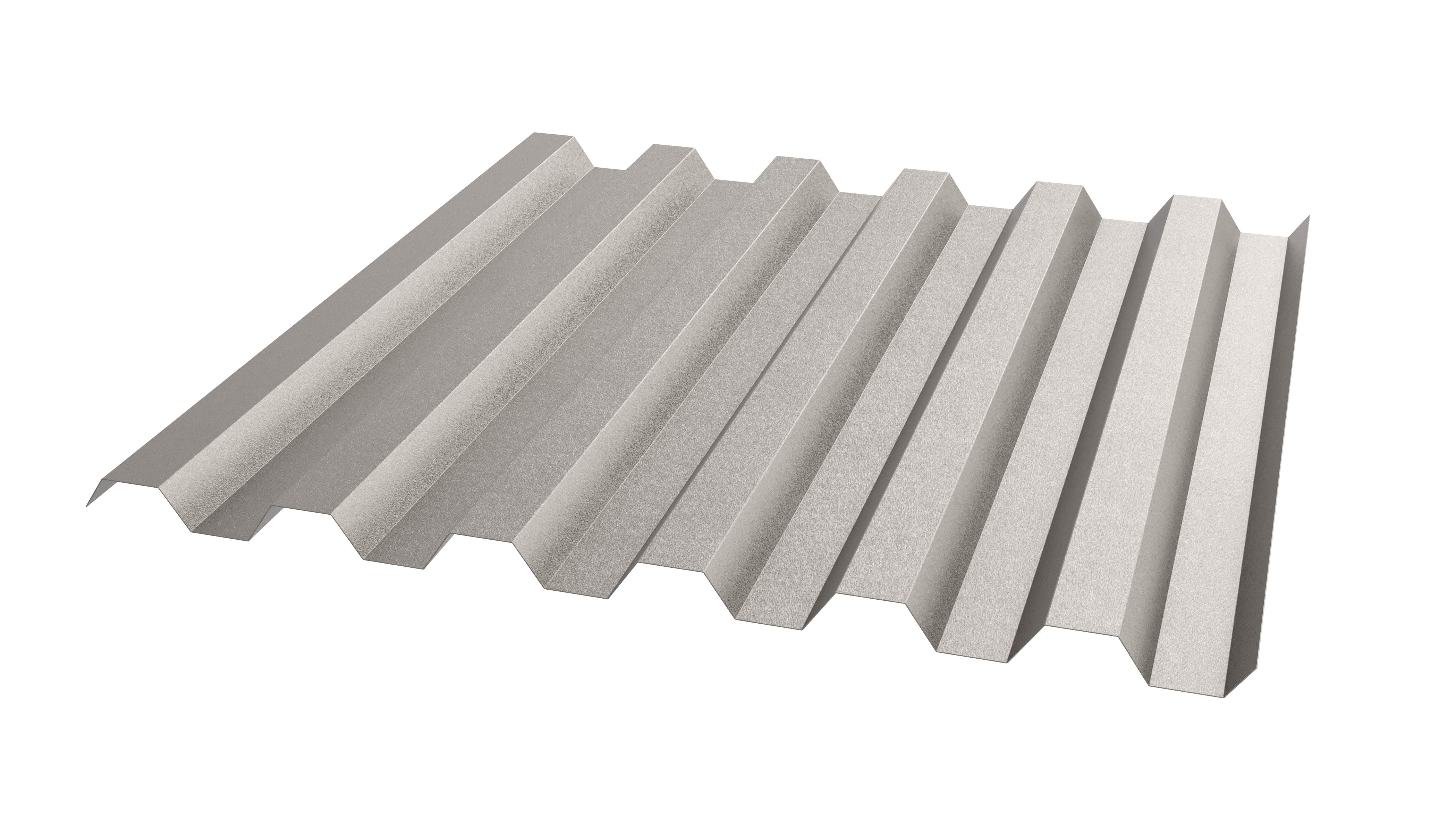Trapezprofile für ausgefallene Fassaden aus Edelstahl