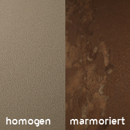 Fassadenverkleidungen homogen oder lebendig