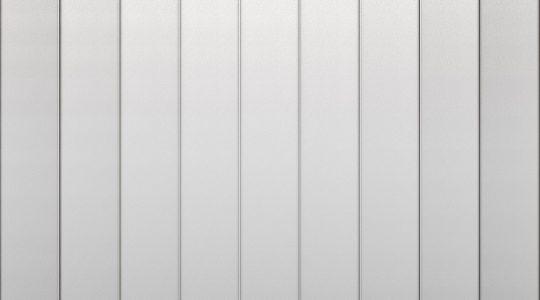 Doppelstehfalz Wand aus HFX Edelstahl