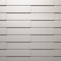 Fassadenverkleidung aus HFX Edelstahl