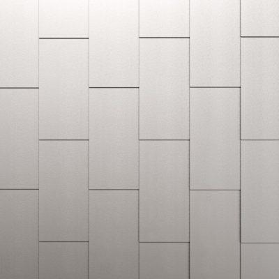 vertikale Fassadenverkleidung mit Großformatschindeln