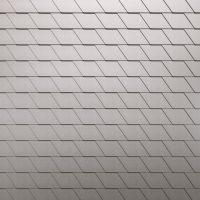 Rhombusschindeln aus HFX Edelstahl
