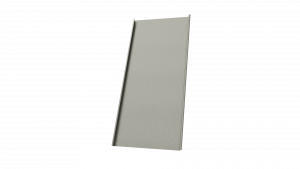 Doppelstehfalz Fassaden aus HFX Edelstahl