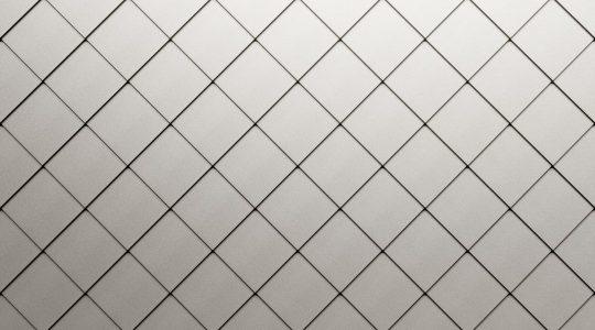 Quadratraute aus HFX Edelstahl für Dach und Fassade