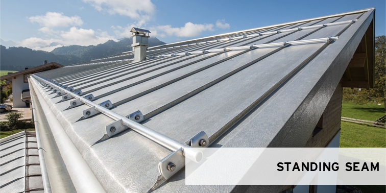 standing seam hfx stainless roofs