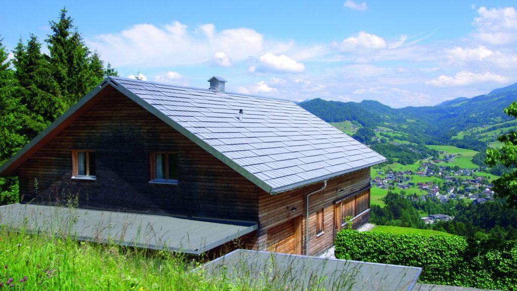 Designschindel für Dach und Fassade