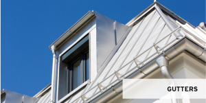 Roofinox Gutters out of stainless steel