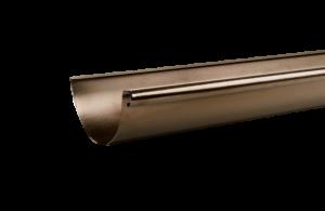 Elektrogefärbte DAchrinne aus HFX Edelstahl